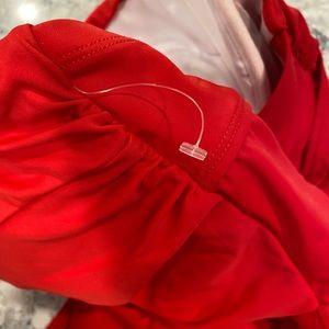 torrid Swim - Torrid peplum bathing suit top